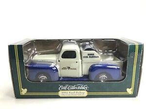 ERTL Die-Cast Metal Vehicle 1951 Ford Pickup Mills Fleet Farm Truck 2002 11th Ed
