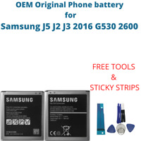 OEM Original Battery For Samsung J5 J2 J3 2016 G530 2600 mAh EB-BG531BBE Akku