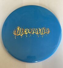 Discmania Lux Tactic- Blue with Gold/Magenta Foil 175g