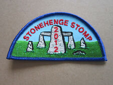 Stonehenge Stomp 2012 Walking Hiking Cloth Patch Badge (L3K)