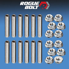 SBF VALVE COVER STUD KIT BOLTS STAINLESS STEEL KIT SMALL BLOCK FORD 289 302 351W