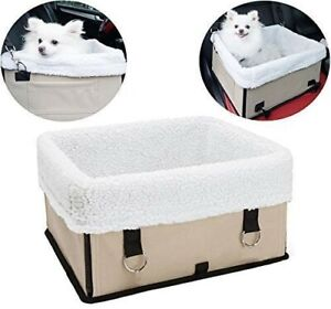 Pet Car Booster Seat - Portable Foldable Small Dog Travel Carrier Car Seat Dogs