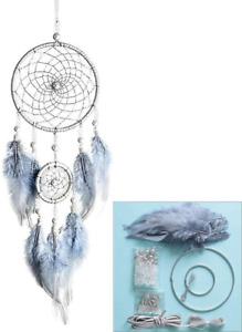 FANDOL DIY Dream Catcher Making Kit, Macrame Dream Catcher Craft Supplies for Ki