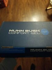 Nunn Bush Comfort Gel 8.5 US Mens Louis Black