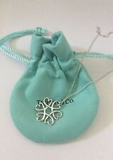 Tiffany & Co.Sterling Silver Loving Heart Medallion Necklace