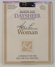 Vtg Kathie Lee Daysheer Queen Size 2X Pantyhose Nylon Stockings Color Navy