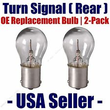 Rear Turn Signal Light Bulb 2pk - Fits Listed Dodge Vehicles - 1156