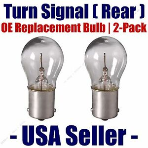 Rear Turn Signal Light Bulb 2pk - Fits Listed Sterling Vehicles - 1156