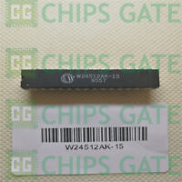 4PCS W24512AK-15 Encapsulation:DIP,64K X 8 HIGH SPEED CMOS STATIC RAM