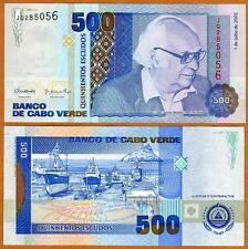 Cape Verde, Africa, 500 Escudos, 2002, P-64b, UNC