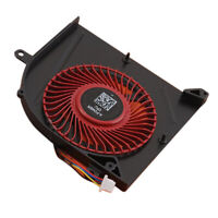 CPU Cooling Fan Cooler Replacement  for MSI GS63VR GS73VR 7RF Series Red 5V