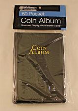 COIN ALBUM - 60 POCKET - 2 x 2 POCKETS - WHITMAN BRAND