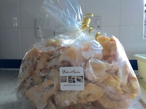 Homemade Italian Specialities Biscuit  Called Chiacchiere 450 gr