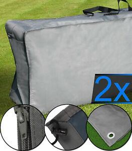 Auflagentasche 2x Schutzhülle für Polsterauflagen Aufbewahrungstasche Sitzkissen