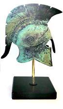Ancient Greek Bronze Museum Replica Vintage Athenian Battle Helmet Collectible