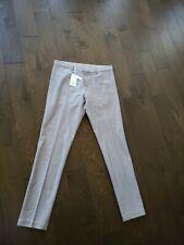 C O S Size 34R Gray Men's Dress Pants 100% Cotton