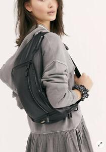 NWT CARAA BLACK SLING BAG