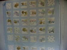 """Baby Panel Cheater Quilt Top,""""ABC"""" 44"""" X 34"""""""
