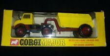 TR-005 Corgi Major 1145 Mercedez Benze Unimog 406 10T Goose Dumper Die Cast