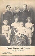 Postcard Royalty Belgium Generations
