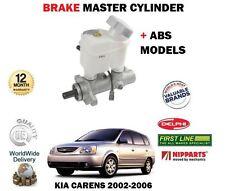 Para Kia Carens 2002-2006 Nuevos Modelos + Abs Cilindro Maestro De Freno + Depósito