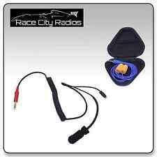 NASCAR Racing Coiled Helmet Kit S3 Mic Challenger Ear Buds Radios Electronics