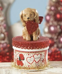Bethany Lowe Valentines Puppy Love On Box TL8692 New