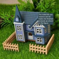 DIY Dollhouse Mini Pink House Cottage Wooden Toy Doll/'s Accessory AaGVx Grovass