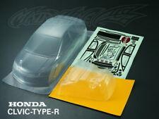 RC 1/10 Honda Civic FD2 Type R Car 195mm Body Shell  Fit Yokomo HPI Tamiya