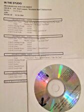"RADIO SHOW: IN THE STUDIO 5/10/04 BAD COMPANY w/PAUL RODGERS ""DESOLATION ANGELS"""