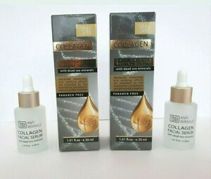 Collagen Anti-Wrinkle Facial Serum 30 ml x 2  - Dead Sea Collection Paraben Free