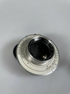 """Kodak Commercial Ektar 14"""" [355mm] F6.3 Lens in Ilex #5 Shutter RI417"""