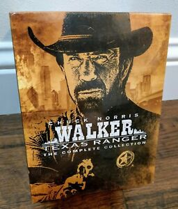 Walker Texas Ranger The Complete Series DVD Collection *SEALED* TV Movie NEW