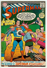 Superman #188 (1966; vf- 7.5) price guide value in this grade: $57.00 (£38.00)