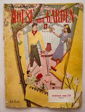 Vintage Australian House & Garden Magazine Oct 1949 Interior Decor 69th Birthday