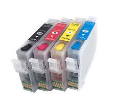 Refill CISS + Tinte (vorbefüllt) für Epson WorkForce WF 3010 DW 3520 3530DTWF 12