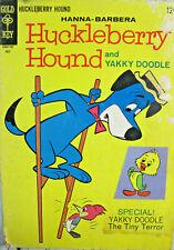 Huckleberry Hound 30 Gold Key Comics Silver Age 1967 GD/VG Cartoon Hanna Barbera