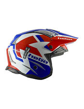 NEW Hebo Zone 4 Balance Trials Helmet Red/White/Blue