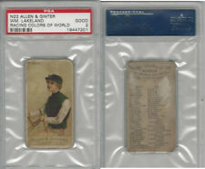 N22 Allen & Ginter, Racing Colors of the World, 1888, Wm. Lakeland, PSA 2 Good