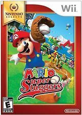 Mario Super Sluggers - Nintendo Selects [Nintendo Wii, NTSC, Baseball Game] NEW