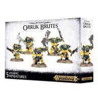Warhammer Age of Sigmar - Orruk Brutes - Ironjawz - Brand New - Free Shipping