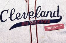 Orig Slide Negro League Cleveland Buckeyes Game Worn Jersey Ernest Wright Jr WOW