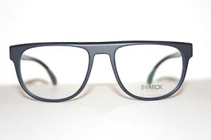 STARCK EYES SH 3020 0007 MATTE BLUE BLACK AUTHENTIC RX EYEGLASSES 54-18-140 MM