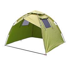 Ruck-Zuck Schirmzelt 2x2m - Blitzschneller Aufbau - Angelzelt Karpfenzelt Zelt