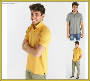 polo maglia maglietta t-shirt da uomo manica corta m l xl xxl in cotone piquette