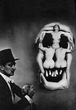 QUALITY CANVAS ART PRINT * SALVADOR DALI Human Skull
