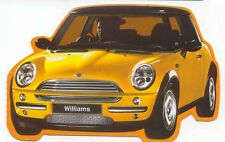 Mini Williams postcard issued by Boomerang Shaped Card
