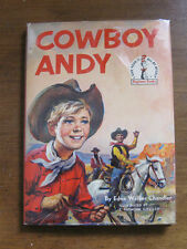 COWBOY ANDY by Edna Walker Chandler - HCDJ 1st 1959 Dr Seuss beginner book $1.95
