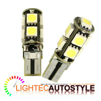 2x PURE XENON WHITE 9 SMD 501 T10 W5W CANBUS ERROR FREE LED SIDELIGHTS W5W 194