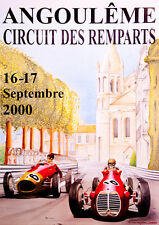 Remparts 2000 CORSA POSTER Stampa A3
